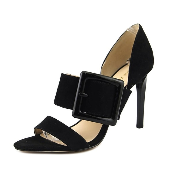 Nine West Langley Women Black Sandals