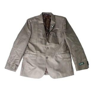 Lauren By Ralph Lauren NEW Brown Boy's Size 20 Wool Plaid Blazer
