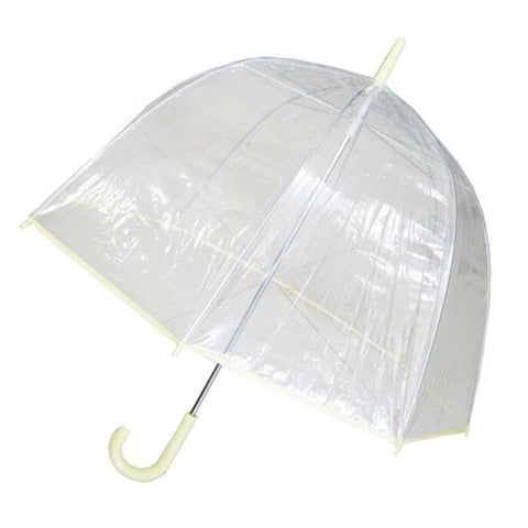 Conch Umbrellas Bubble Clear Umbrella, Dome Shape Clear Umbrella