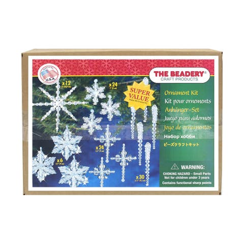 The Beadery Ornament Kit Crystal Collection - Medium