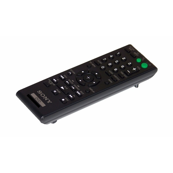 OEM Sony Remote Control Originally Supplied With: DVPSR200, DVP-SR200, DVPSR200B, DVP-SR200B, DVPSR200P, DVP-SR200P