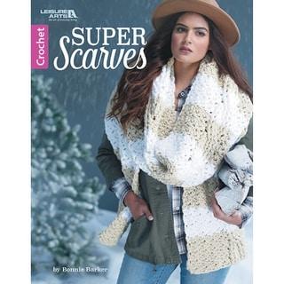 Leisure Arts-Super Scarves