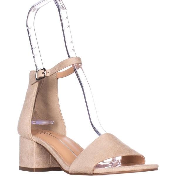 XOXO Horatio Ankle-Strap Sandals, Bone