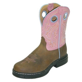 Twisted X Work Boots Womens Steel Toe EZ Rider Marble Brown