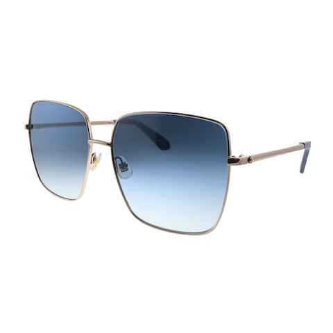 Kate Spade Fenton/G/S PJP Womens Gold Blue Gradient Lens Sunglasses