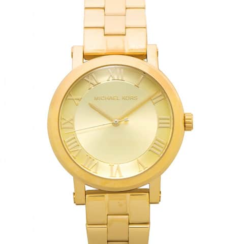 Michael Kors Gold MK3560 Dial Ladies Watch - One Size