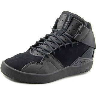 Adidas Crestwood Mid J Round Toe Suede Sneakers