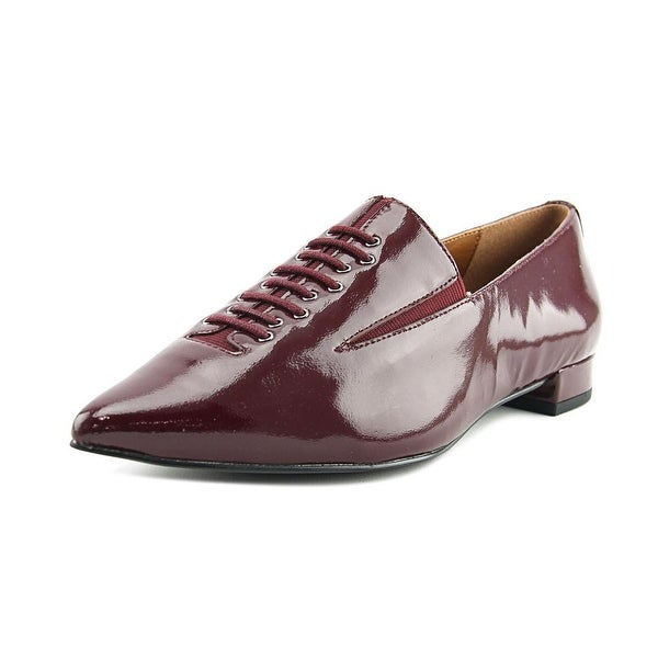 H by Halston Ronda Women Pointed Toe Synthetic Burgundy Loafer