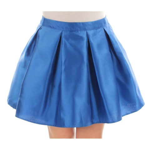 Womens Blue Casual Skirt Size 11