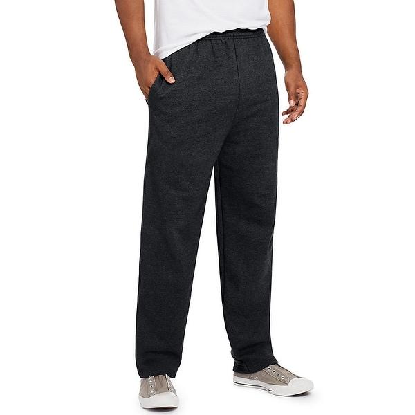 Hanes ComfortSoft EcoSmart Men's Fleece Sweatpants - Size - M - Color - Black