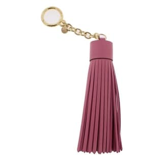 Michael Kors Womens Fashion Keychain Leather Tassel - o/s
