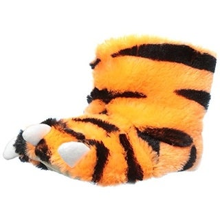 Carters Tiger S Toddler Boys Faux Fur Bootie Slippers