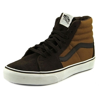 Vans Sk8-Hi Men Round Toe Synthetic Brown Sneakers