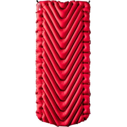 Klymit Insulated Static V Luxe Red Sleeping Pad Travel Mat