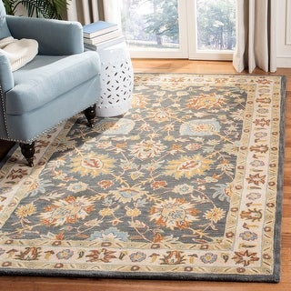 Link to Safavieh Handmade Classic Ouida Traditional Oriental Wool Rug Similar Items in Casual Rugs