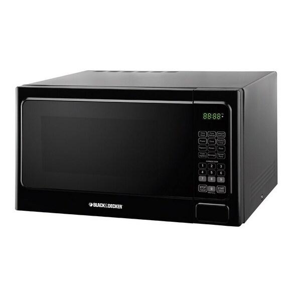 Black & Decker EM034AAA-X2 Microwave, 1.3 Cu.ft, Black
