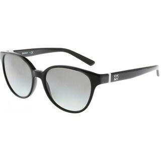 Dkny Women's Gradient DY4117-300111-55 Black Clubmaster Sunglasses