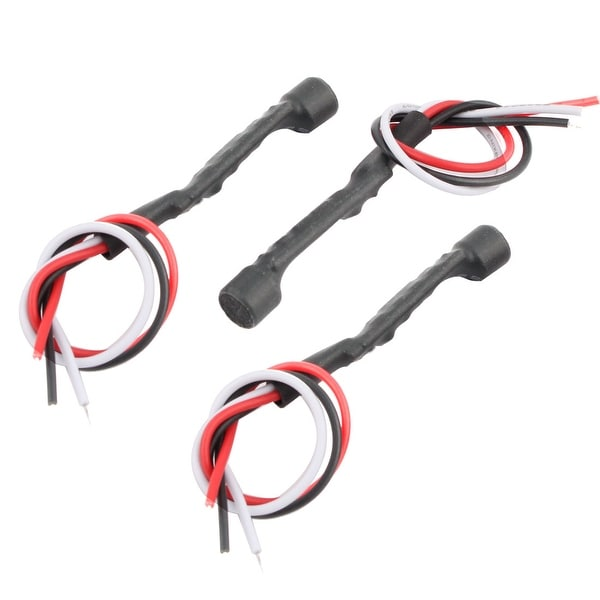 Microphone Recording Security Sound Monitor Pickup Tricolor 3 Pcs