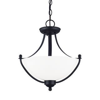 Sea Gull Lighting 77270-839 2-Light Semi Flush Convertible Pendant Blacksmith - blacksmith finish|https://ak1.ostkcdn.com/images/products/is/images/direct/81ce8e2f4275b4a4977832d05b258b57a597e6ae/Sea-Gull-Lighting-77270-839-2-Light-Semi-Flush-Convertible-Pendant-Blacksmith.jpg?impolicy=medium