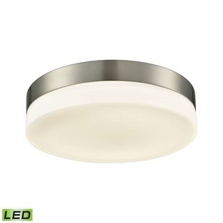 Alico FML4075-10-16M Integrated LED Flush Mount with Opal Glass Diffuser Shade from the Holmby Collection