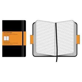 "Moleskine Classic Notebook - Large Notebook - 5"" x 8.25"" - Large Sketchbook - Red"