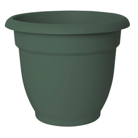 """Fiskars 20-56410 Ariana Planter, 10"""", Living green"""