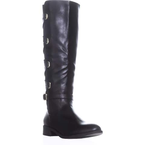 Thalia Sodi Womens Veronika Closed Toe Knee High Wide Calf Fashion Boots