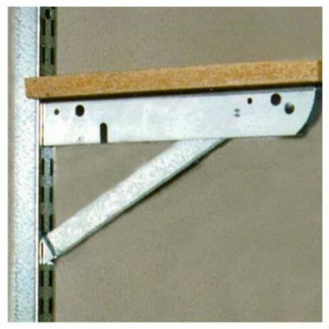 John Sterling BK-0103-11 Double Shelf Bracket, Galvanized Steel, 10