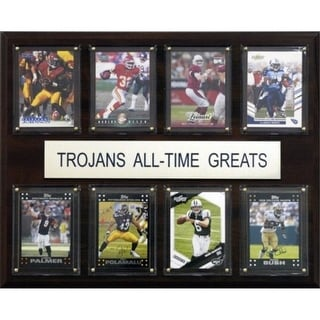 C I Collectables 1215ATGUSC NCAA Football USC Trojans All Time Greats Plaque