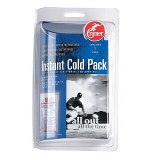 Cramer Instant Cold Packs for Relief of Pain and Swelling - Retail Pack
