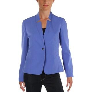 Tahari ASL Womens Petites Blazer Pintuck Office - 6P