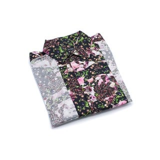 Givenchy Mens Cotton Floral Printed Button Down