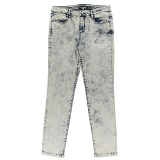 Calvin Klein Jeans Womens Skinny Jeans Denim Acid Wash - 32/32
