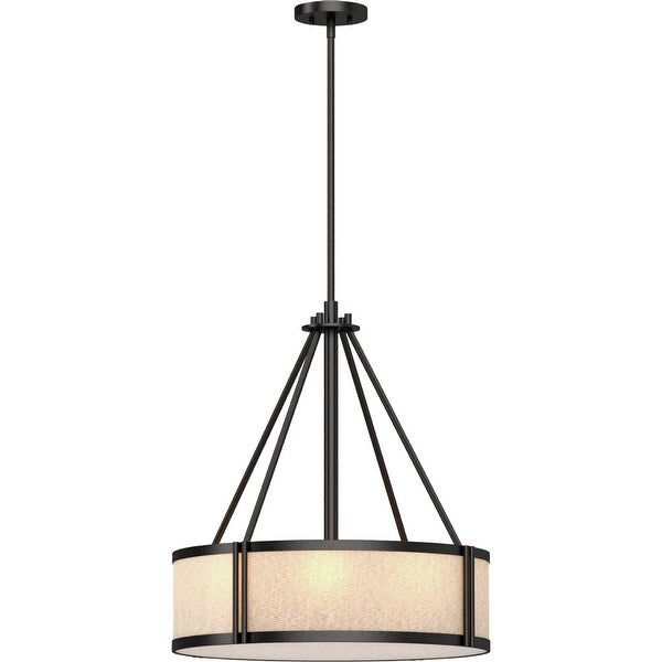 Volume Lighting 4-Light Indoor Antique Bronze Downrod Pendant - Antique Bronze. Opens flyout.