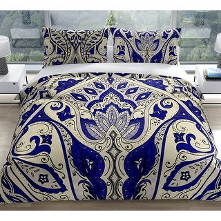 Link to MAHAL NAVY Duvet Cover by Kavka Designs Similar Items in Duvet Covers & Sets