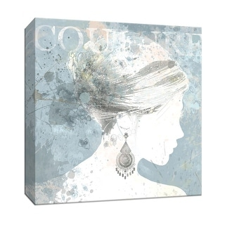 """PTM Images 9-146945  PTM Canvas Collection 12"""" x 12"""" - """"Pretty Couture"""" Giclee Jewelry Art Print on Canvas"""