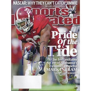 Mark Ingram Autographed Alabama 2009 Sports Illustrated