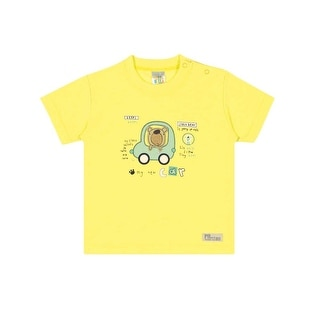 Baby Boy Graphic T-Shirt Summer Tee Pulla Bulla Sizes 3-12 Months