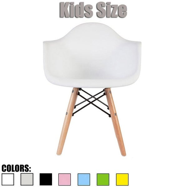 2xhome Plastic Chair With Arms Armchair Eiffel Dowel Leg Natural Wood For 3 4 5 6 Years Kids Student School Classroom Home Desk