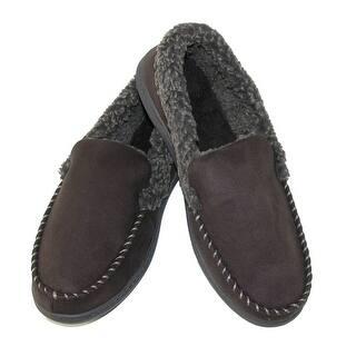 Dearfoams Men\'s Slippers For Less | Overstock.com