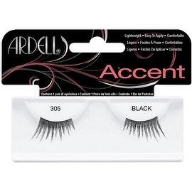 Ardell Accent Lashes, Black [305] 1 ea