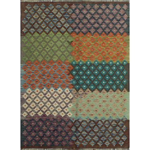 "Noori Rug Sangat Beorhthr Brown/Ivory Rug - 3'5"" x 4'7"""