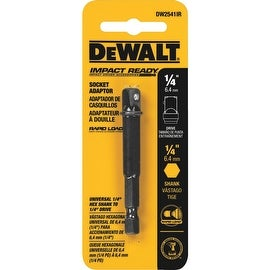"DeWalt 1/4"" Ir Socket Adapter"