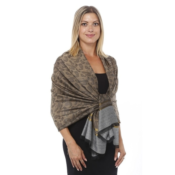 Silky Light Pashmina Scarf Shawl