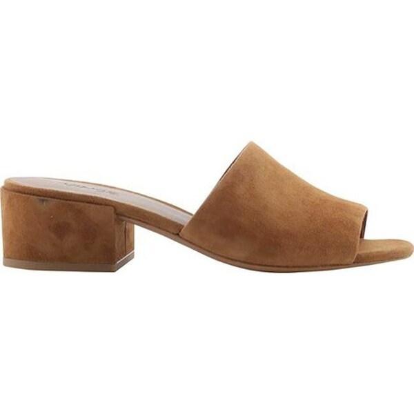 Deep Blue Vince Womens Rachelle-2 Suede Open Toe Casual Slide Sandals Size 9.0