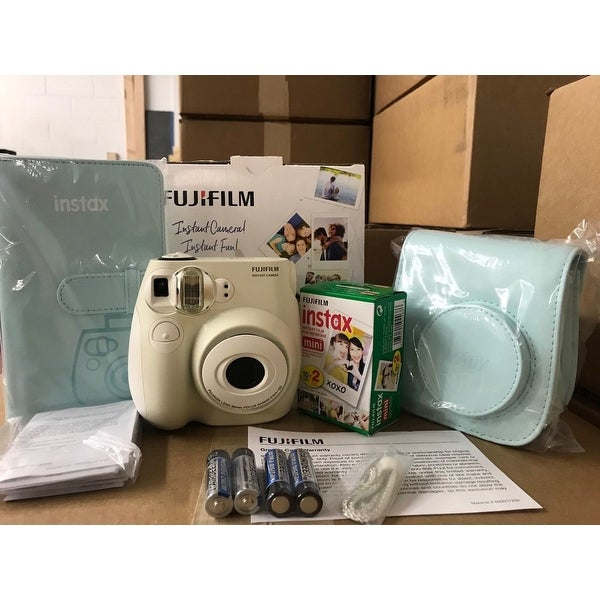 0dc6fa091e8d Shop Fujifilm Instax mini 7S Instant Film Camera Bundle Pack (Refurbished)  - Free Shipping Today - Overstock - 20564220