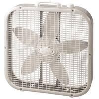 Lasko 3733  Electric Box Fan, 3 Speed