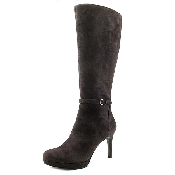 Nine West Califa Women Round Toe Suede Knee High Boot