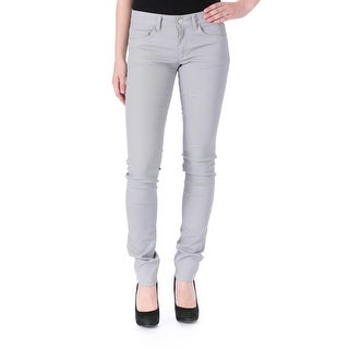 Joseph Womens Eravan Colored Skinny Jeans Coated Colored