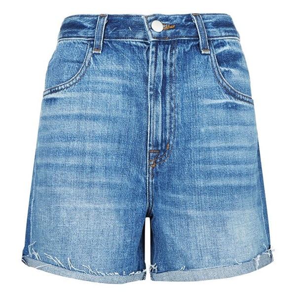J Brand Joan High Rise Denim Shorts